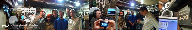 Klangboot besucht Aura @ Ambione